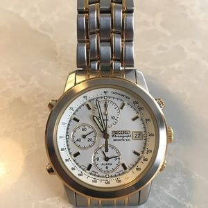 Vintage Seiko Chronograph Watch